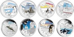 Australian Antarctic Territory Silver Proof Coins