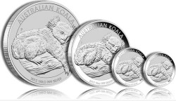 Australian Koala Silver Bullion Coins (Perth Mint Images)