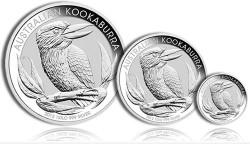 Australian Kookaburra Silver Bullion Coins (Perth Mint images)
