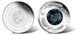 2012 Opal Wombat Silver Proof Coin