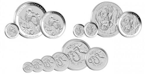 2013 Australian Silver Bullion Coins