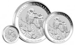2013 Kookaburra Silver Bullion Coins