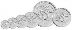 2013 Year of the Snake Silver Bullion Coins
