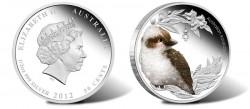 Australian Bush Baby Kookaburra Silver Coin