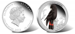 Red-Tailed Black-Cockatoo Silver Proof Coin